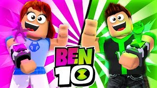 [Rematch] BEN 10 VS GWEN 10 IN ROBLOX!! (Ben 10 Arrival Of Aliens) /w DefildPlays