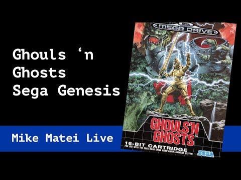 Ghouls 'n Ghosts (Sega Genesis) Mike Matei Live