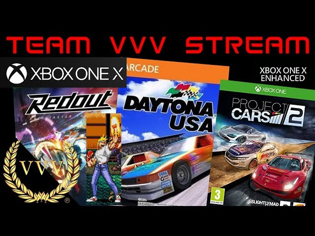Xbox One X, Daytona USA, Project Cars 2, Redout and more...