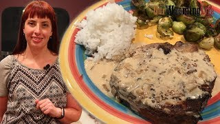 Pork Chops with Mustard Sauce - How To Cook
