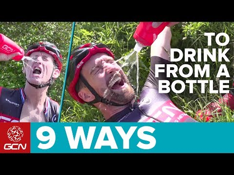 9 Ways To Drink From A Cycling Water Bottle