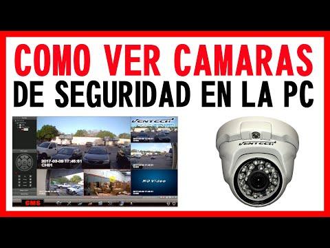 PROGRAMA CMS PARA VER DVR Y CAMARAS IP VENTECH DESDE LA PC SPANISH VERSION