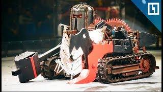 Бои без правил роботов-тяжеловесов