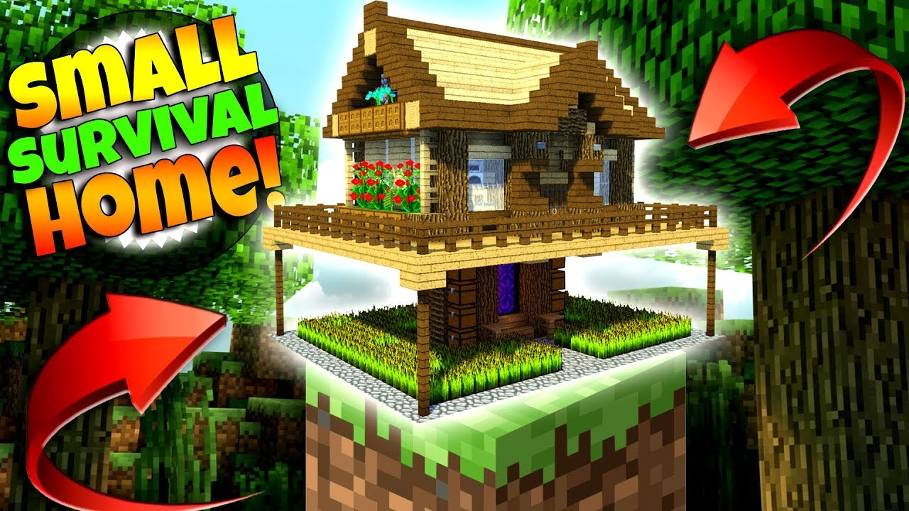 Best Small Survival House Ever Minecraft Tutorial Youtube