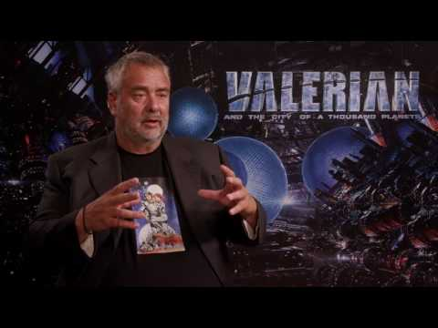VALERIAN exclusive Interview LUC BESSON - LAURELINE - about Cara Delevingne