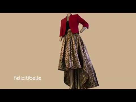 How to make a high low maxi dress