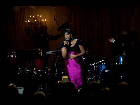 Jennifer Hudson Performs at the White House: 6 of 11