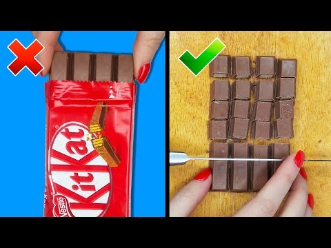 26 AMAZING FOOD TRICKS