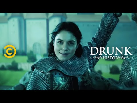 Joan of Arc Leads an Army feat. Vanessa Hudgens  Drunk History