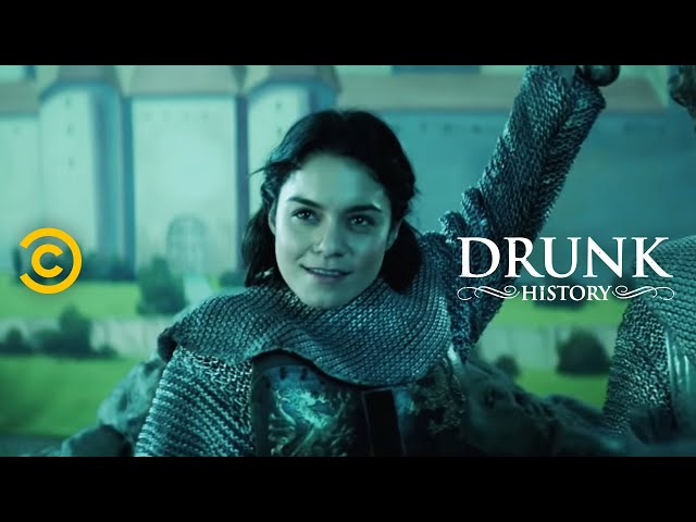 Joan of Arc Leads an Army (feat. Vanessa Hudgens) - Drunk History