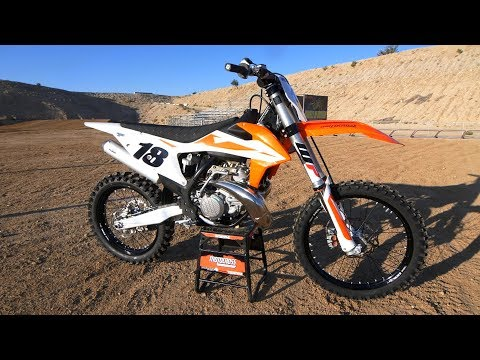 First Ride 2019 KTM 250SX 2 Stroke - Motocross Action Magazine