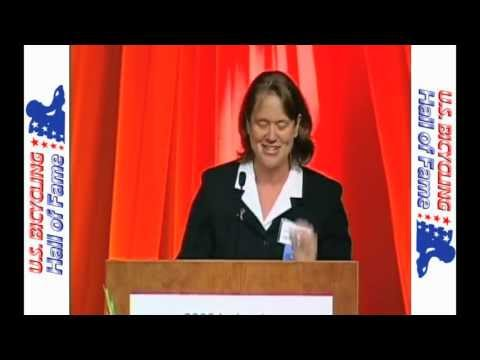 Cheri Elliott - Cycling Legend - Acceptance Speech U.S. Bicycling Hall of Fame