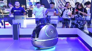 Gambar cover Alibaba Invents Incredible 'Space Egg' New Robot for Hotel Room Service