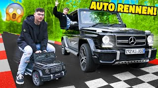 RIESEN AUTO vs MINI AUTO RENNEN!