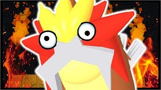 ROAMING ENTEI LEGENDARY - SHINY DEOXYS PARTY!! | Roblox Pokemon Fighters EX
