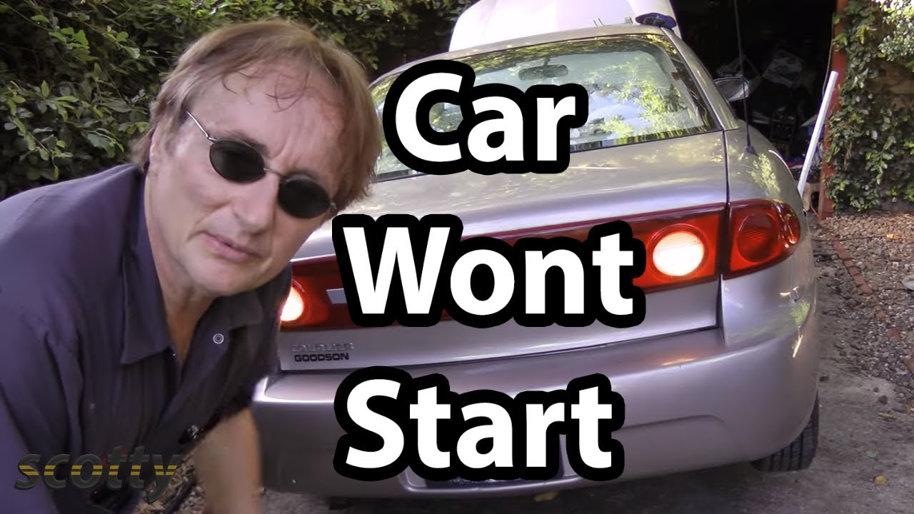 How To Fix A Car That Wont Start When You Turn The Key Youtube 1963 Gmc Motor Starter Wiring
