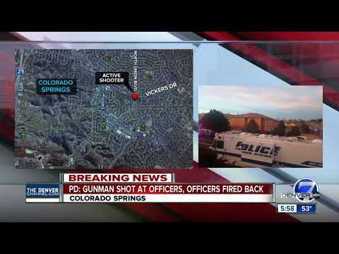 Colorado Springs Police respond to 'active shooting' scene; no injuries reported