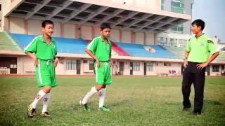 kỹ năng đá bóng cơ bản cho trẻ em