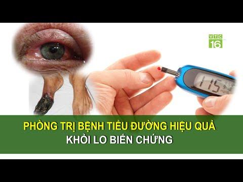 Phòng trị bệnh tiểu đường hiệu quả, tránh biến chứng | Sức khoẻ vàng VTC16