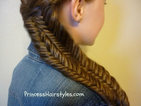 Fishtail Illusion Braid (Mermaid Braid) Hairstyle Tutorial
