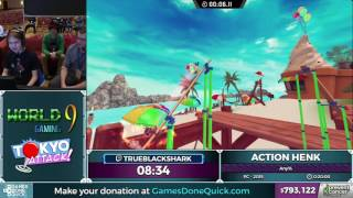 Action Henk by badblackshark in 15:39 - Awesome Games Done Quick 2017 - Part 138