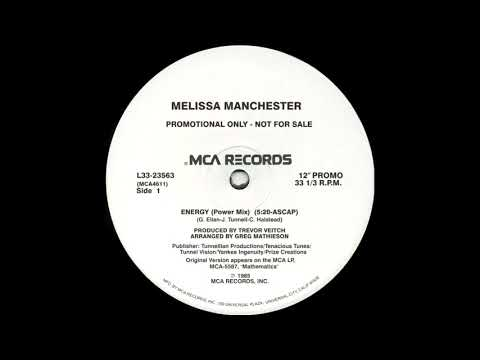 Melissa Manchester - Energy (Power Mix) 1985