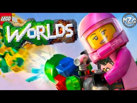 Traveling to New Worlds! - LEGO Worlds Gameplay - Episode 2