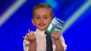kid sings CHUG JUG WITH YOU on America's Got Talent..