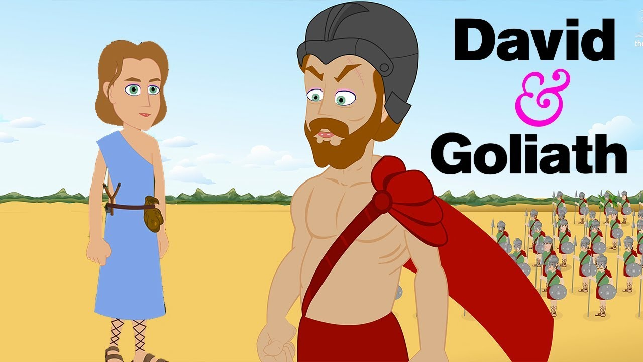 David and Goliath | Popular Bible Stories I Holy Tales - Children's Bible  Stories |Animated Cartoons