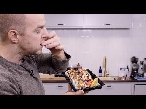 Testar Uppsalas bästa (?) sushi för avhämtning
