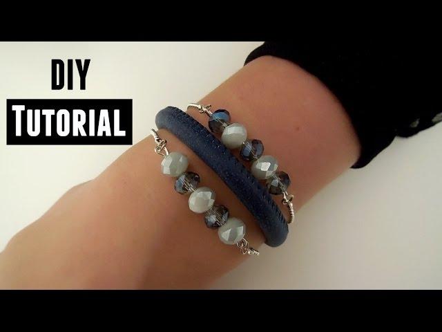 Armband Maken Met Ballchain En Facetkralen