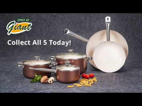 Giant's PWP Promotion : Solaris Pro Cera Cookware