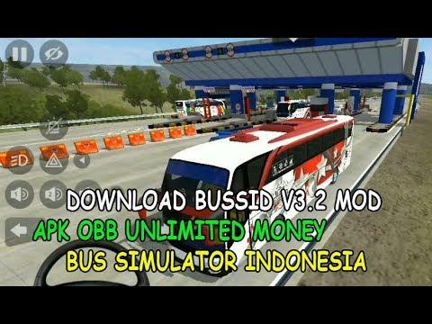 Download Bussid V3 2 Mod Apk Obb Unlimited Money Bus Simulator Indonesia Offline Youtube