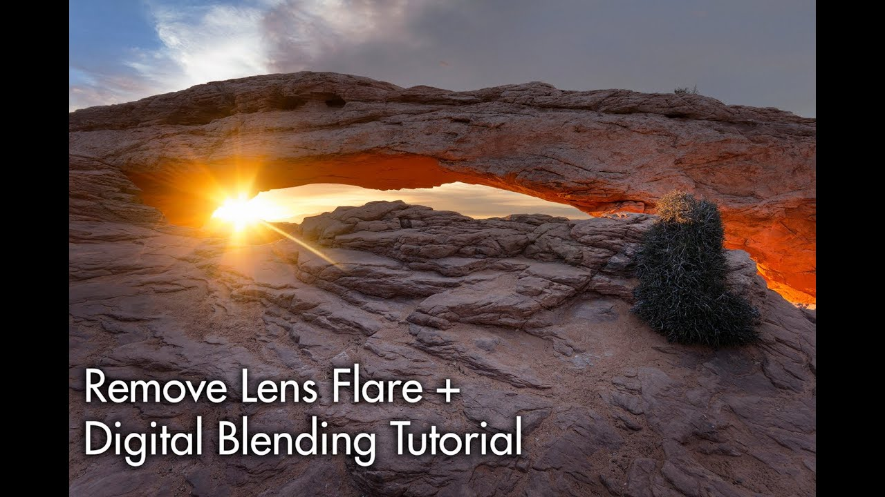 how to add lens flares in photoshop