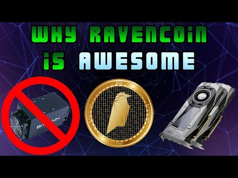 Why Raven Coin Is Awesome And How To Mine It 🌚 🚀