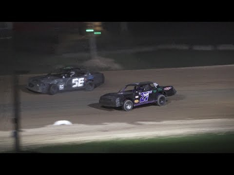 Street Stock Feature Race at Crystal Motor Speedway, Michigan on 08-31-2019!