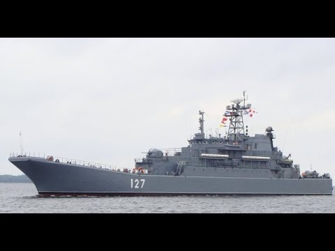 Russian landing ships carrying munitions directed to MED. sea.