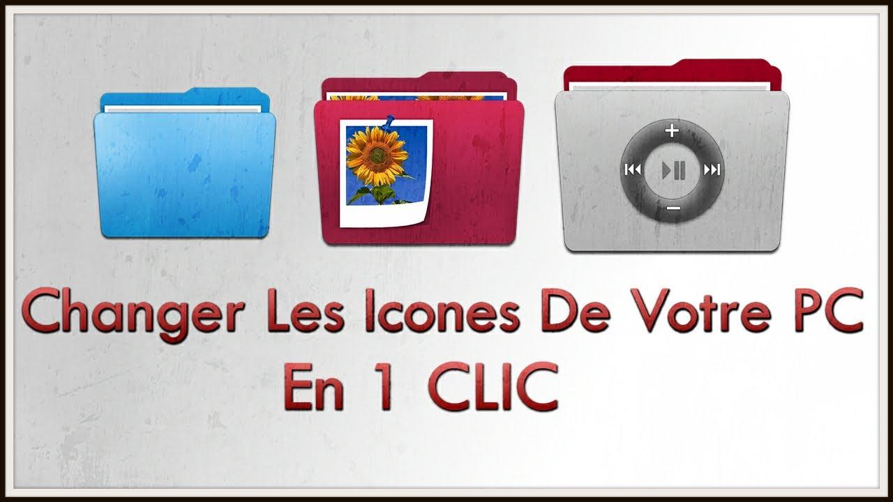 Windows customization 2014 changer les ic nes de votre pc windows en 1 clic tutoriel youtube - Telecharger icone bureau windows 7 ...