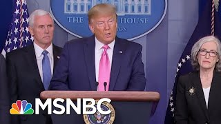 Senator Skeptical Of President Donald Trump Response To Coronavirus | Morning Joe | MSNBC