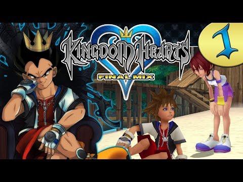 """""""OPEN THE DOOR"""" - Vegeta Plays Kingdom Hearts (Final Mix) Part 1"""