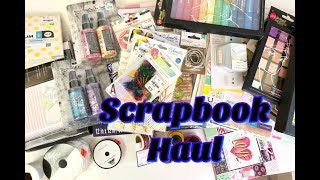 Scrapbook Haul: TM, Michaels & HL