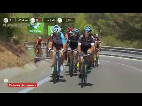 Volta da Espanha 2017 - stage 6 quilômetros finais - La vuelta a España