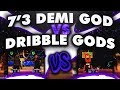 DRIBBLE GODS EXPOSED ? 55 OVERALL 7'3 DEMIGOD EXPOSES DRIBBLE GODS ?  NBA 2K17 MyPark