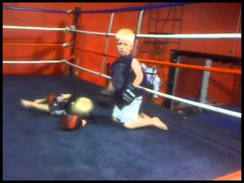 Shawn Hammond's Two Boys Fighting MMA
