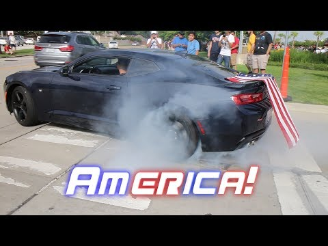 Download Houston Cars and Coffee / Burnouts and hard Acceleration AMERICA! EDITION - July 2017 Mp4 baru