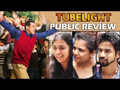 Thumbnail: Tubelight Movie Public Review | जनता की राय | First Day First Show | Salman Khan, Sohail Khan