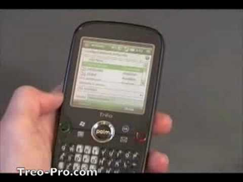 Palm Treo Pro Video Demo