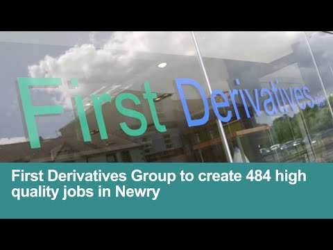 First Derivatives announce major jobs investment | Financial services software systems