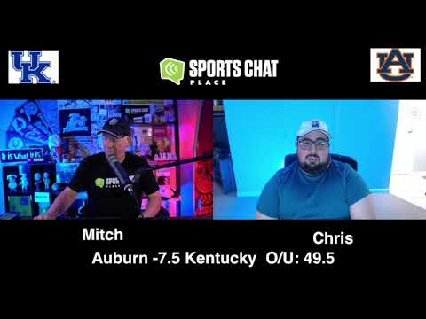 Kentucky at Auburn - Saturday 9/26/20 - College Football Picks & Prediction | Sports Chat Place