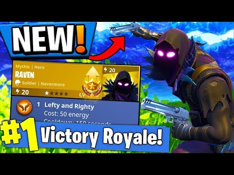 *NEW* DUAL WIELDING?! NEW MYTHIC HERO IN FORTNITE!! Fortnite: Save The World